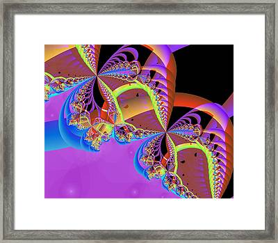 Framed Print featuring the digital art My Funny Valentine by Ann Peck