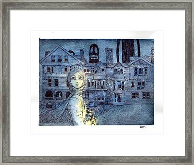 My Future Lies Within This Place Framed Print by Katchakul Kaewkate
