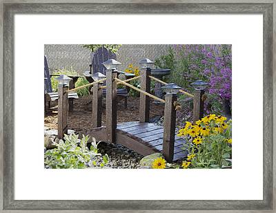 My Garden 10 Framed Print by Michel DesRoches