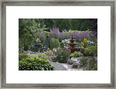 My Garden 2 Framed Print by Michel DesRoches