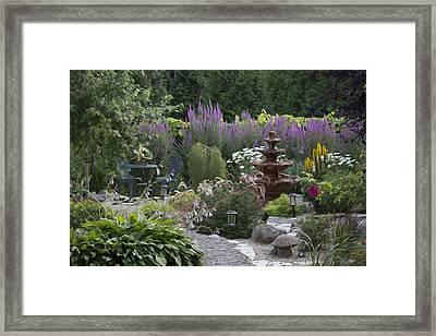 My Garden 2 Framed Print
