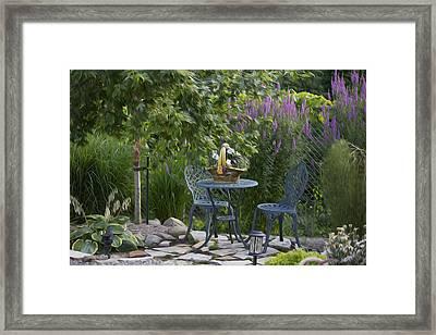 My Garden 3 Framed Print