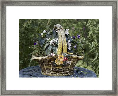 My Garden 5 Framed Print