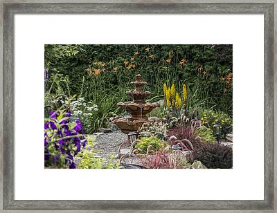 My Garden 9 Framed Print by Michel DesRoches