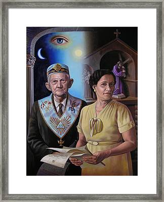 My Grandparents Framed Print by Miguel Tio
