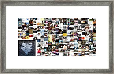 My Heart Belongs To You Framed Print by Holley Jacobs