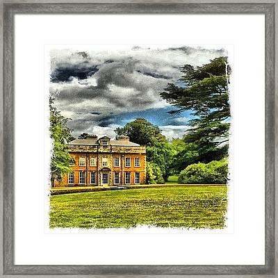 My House Framed Print