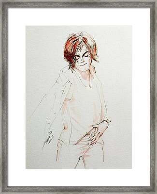 My In My Room Framed Print by Hitomi Osanai