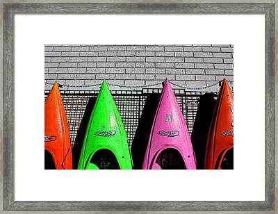 My Kayak Framed Print