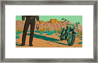 My Kind Of Cowboy Framed Print