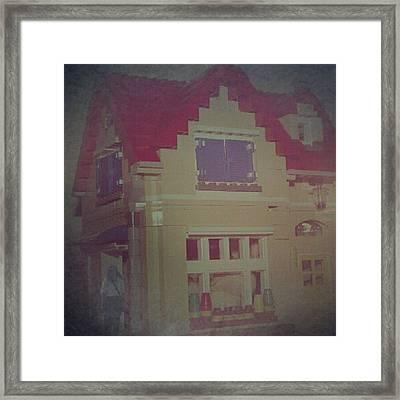 My Lego Home #impressionist Framed Print by Vika Klaretha Dyahsasanti