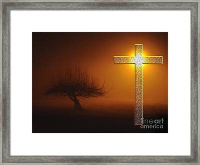 My Life In God's Hands 3 To 4 Ration Framed Print by Clayton Bruster