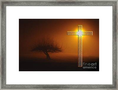 My Life In God's Hands Framed Print by Clayton Bruster