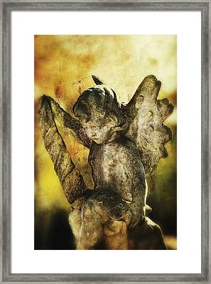 Framed Print featuring the digital art My Little Angel 02 by Kevin Chippindall