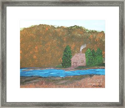 My Little Hide Away Framed Print by Lorraine Louwerse