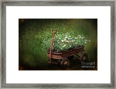 My Little Red Rust Framed Print by The Stone Age
