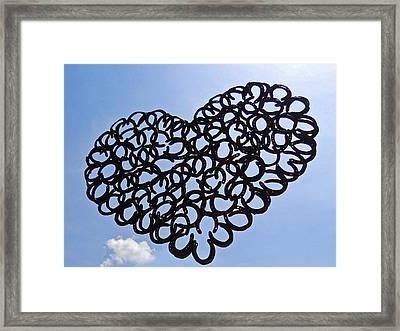 My Magical Heart ... Framed Print by Juergen Weiss