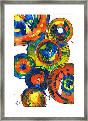 My Magical Spheres    859.121811 Framed Print by Kris Haas