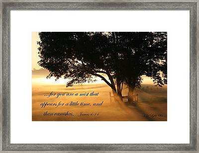 My Morning View Framed Print by Mike Lytle