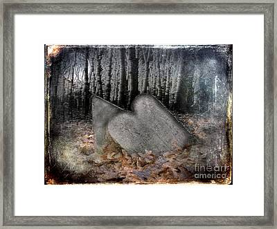 My Nights With Emily Framed Print by The Stone Age