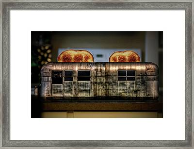 My Old Toaster Framed Print by Jan Maklak
