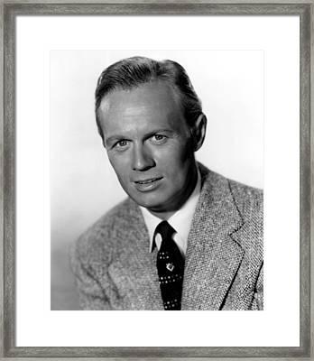 My Pal Gus, Richard Widmark, 1952 Framed Print by Everett