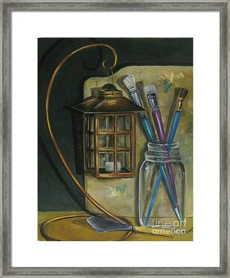 My Pallete Framed Print by Patricia Lang