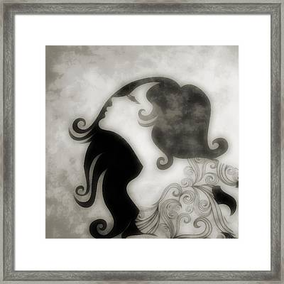 My Prince Will Come For Me 3 Framed Print by Angelina Vick