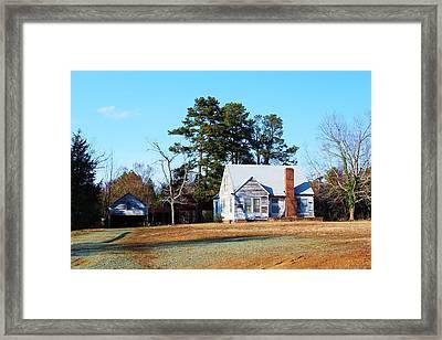 My Red Chimney Framed Print by Bob Whitt