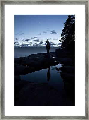 My Reflection Framed Print