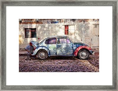 My Ride Framed Print
