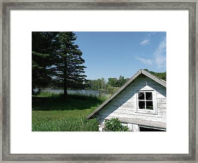 My Rural Minnesota Framed Print by Brian  Maloney
