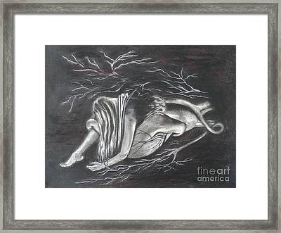 My Searching Heart Framed Print by Carla Carson