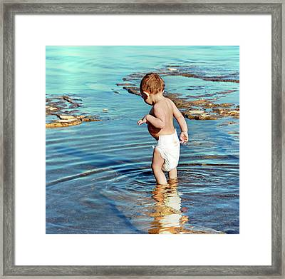 My Shadow Framed Print by Steven Michael