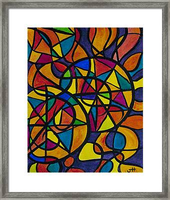 My Three Suns Framed Print by Jaime Haney