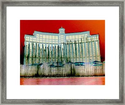 My Vegas Bellagio 1 Framed Print by Randall Weidner