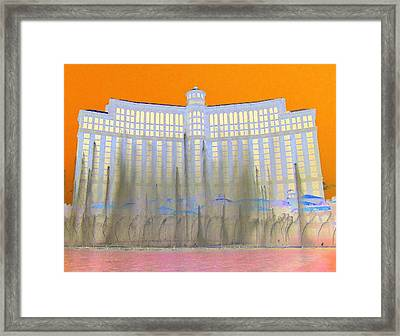 My Vegas Bellagio 3 Framed Print by Randall Weidner