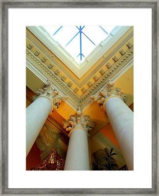 My Vegas Caesars 15 Framed Print by Randall Weidner