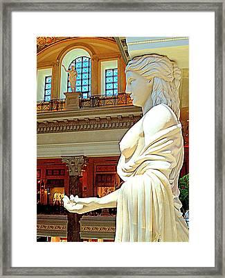 My Vegas Caesars 17 Framed Print