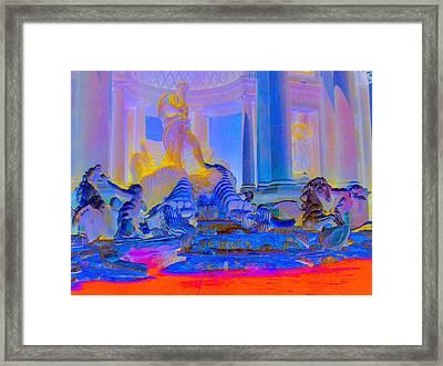 My Vegas Caesars 4 Framed Print
