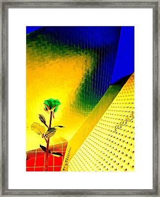 My Vegas City Center 15 Framed Print by Randall Weidner