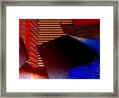 My Vegas City Center 25 Framed Print by Randall Weidner