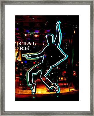 My Vegas Elvis 1 Framed Print