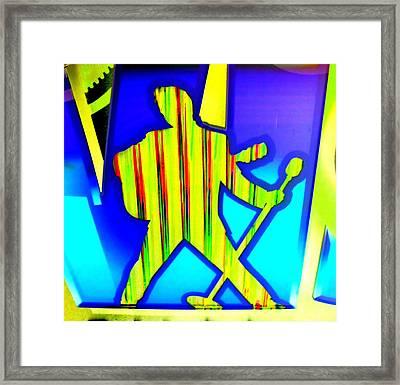 My Vegas Elvis 4 Framed Print