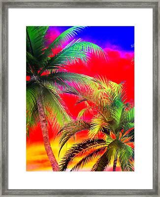 My Vegas Margaritaville 1 Framed Print
