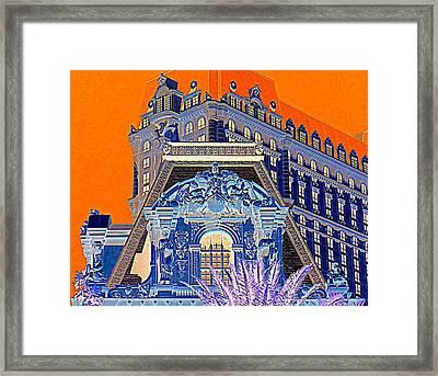 My Vegas Paris 1 Framed Print by Randall Weidner