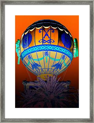 My Vegas Paris 2 Framed Print by Randall Weidner