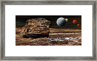 My View From Mars Framed Print