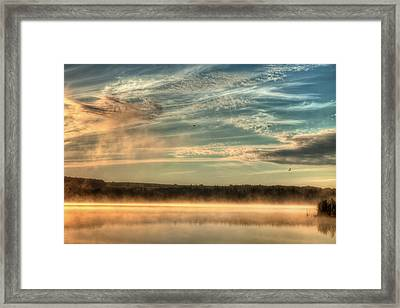 My View Of The World Framed Print by Gary Smith
