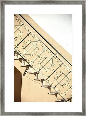 My Way Up Framed Print by Jez C Self